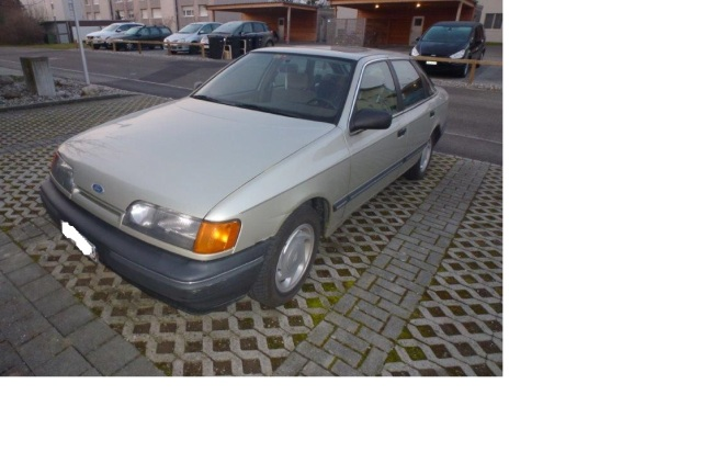Ford Scorpio 2.4 i CL, Jg. 1989 (2015)