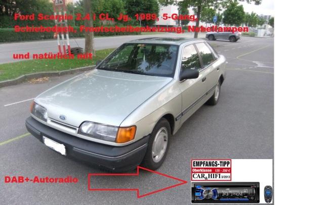 Ford Scorpio 2.4 i CL mit