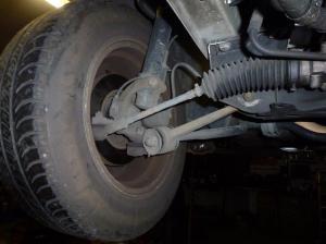 Unterboden Ford Scorpio 2.4 i CL 004