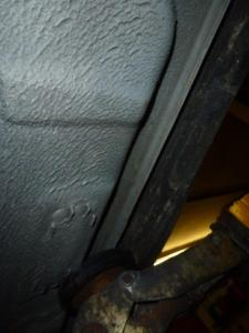Unterboden Ford Scorpio 2.4 i CL 011