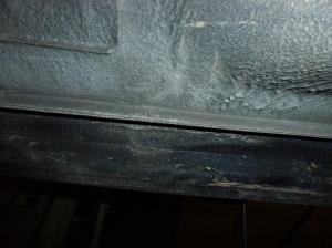 Unterboden Ford Scorpio 2.4 i CL 013