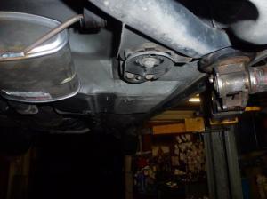 Unterboden Ford Scorpio 2.4 i CL 019
