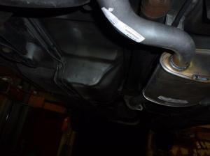 Unterboden Ford Scorpio 2.4 i CL 021